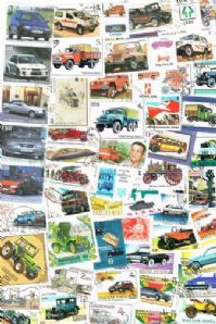 50 different cars and road transport packet